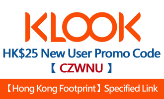 Klook New User Promo Code
