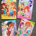 New Winx Club Season 7 books in Russia!!