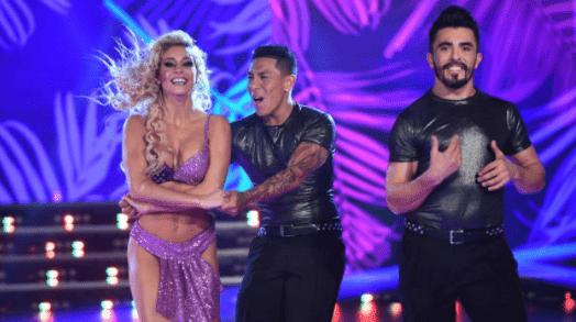 Brian Sarmiento bailando