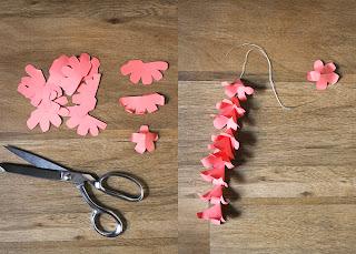 Kağıttan Çan Çiçekleri Yapımı