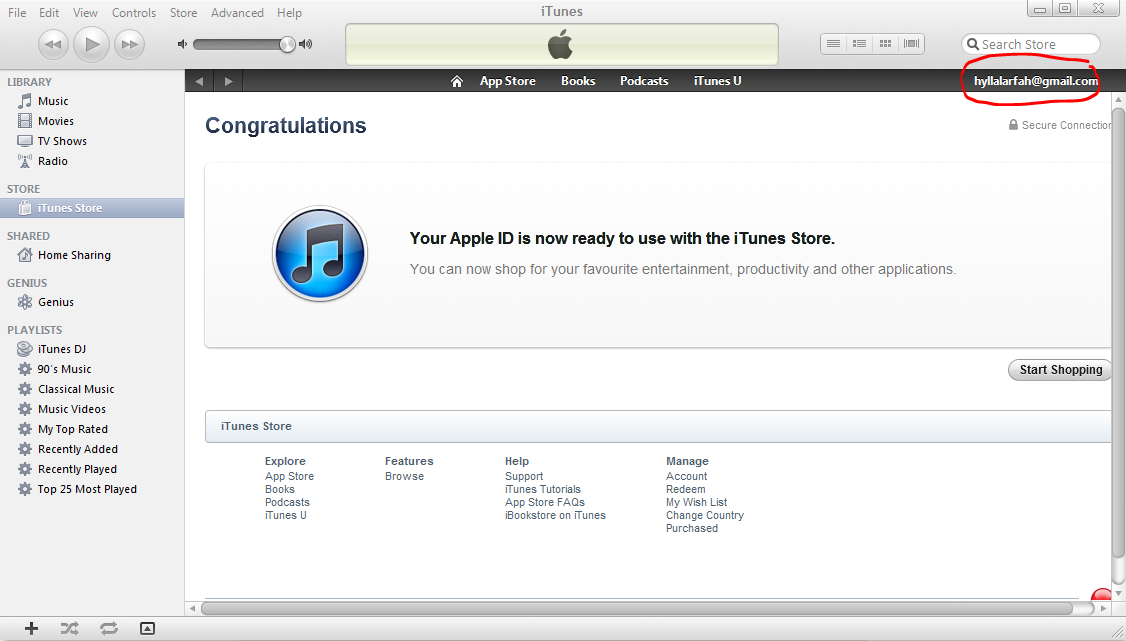 Contact Itunes Support