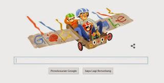 Google Doodle hari ini Merayakan Hari Ayah Nasional