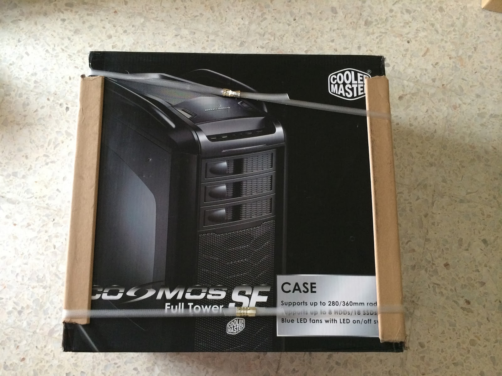 Unboxed & Reviewed: Cooler Master Cosmos SE 98