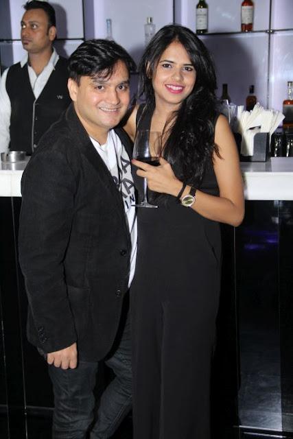 (L-R) Anuj Lalwani, Anushka Laul