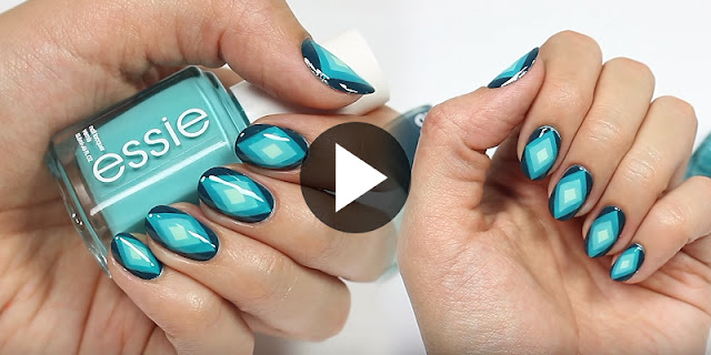 Nail Hacks See How To Create Ombre Diamond Nail Art See Tutorial