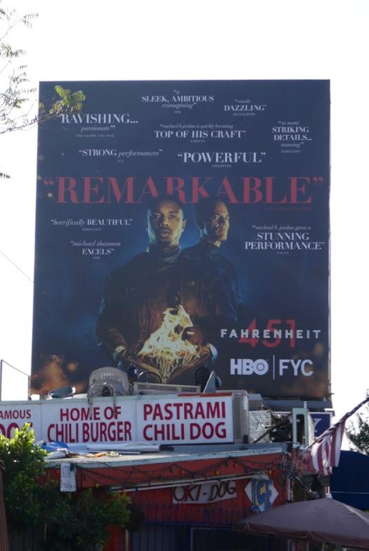 Fahrenheit 451 HBO FYC billboard