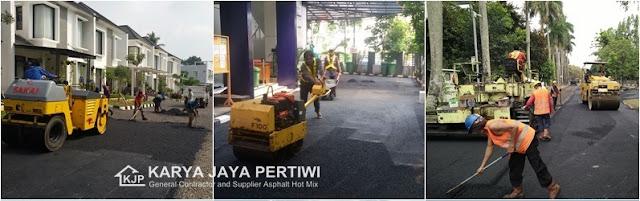 Kontraktor Pengaspalan Jalan, Jasa Perbaikan Jalan, Jasa Aspal Hotmix, Jabodetabek Bandung Cikarang Pandeglang Jawa Barat