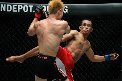 ​​Filipino fighter Jimmy Yabo guns for spectacular finish at ONE: LIGHT OF A NATION