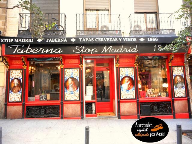 escritores en las calles de madrid