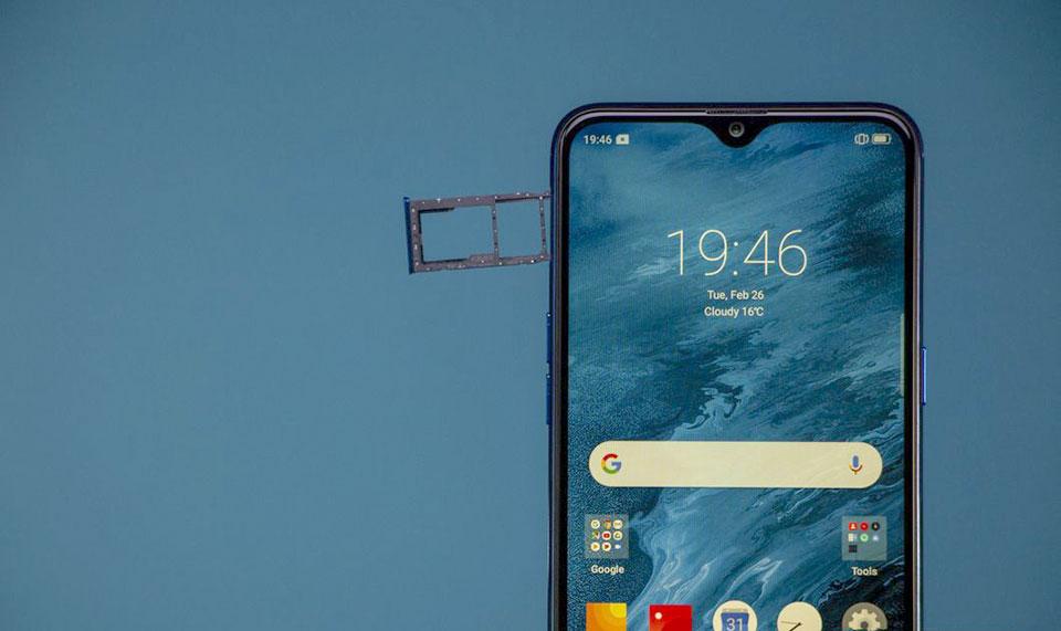 Điện thoại giá rẻ màn hình giọt nước Realme 3 vừa ra mắt