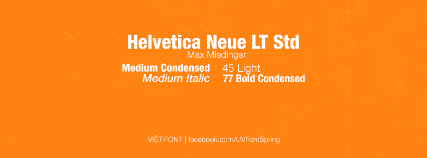 Helvetica Condensed Font Family