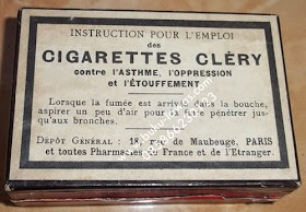 Rokok kuno Cigarettes Clery paris.