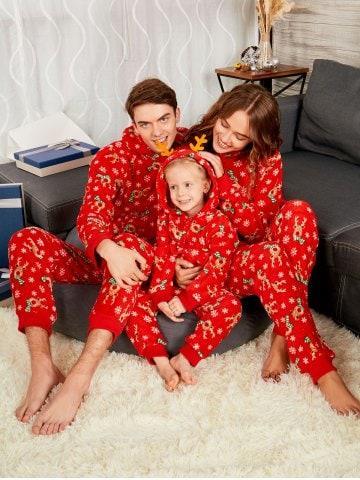 Rudolph Matching Christmas Family Pajama
