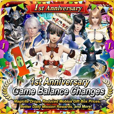 1st Anniversary Game Balance