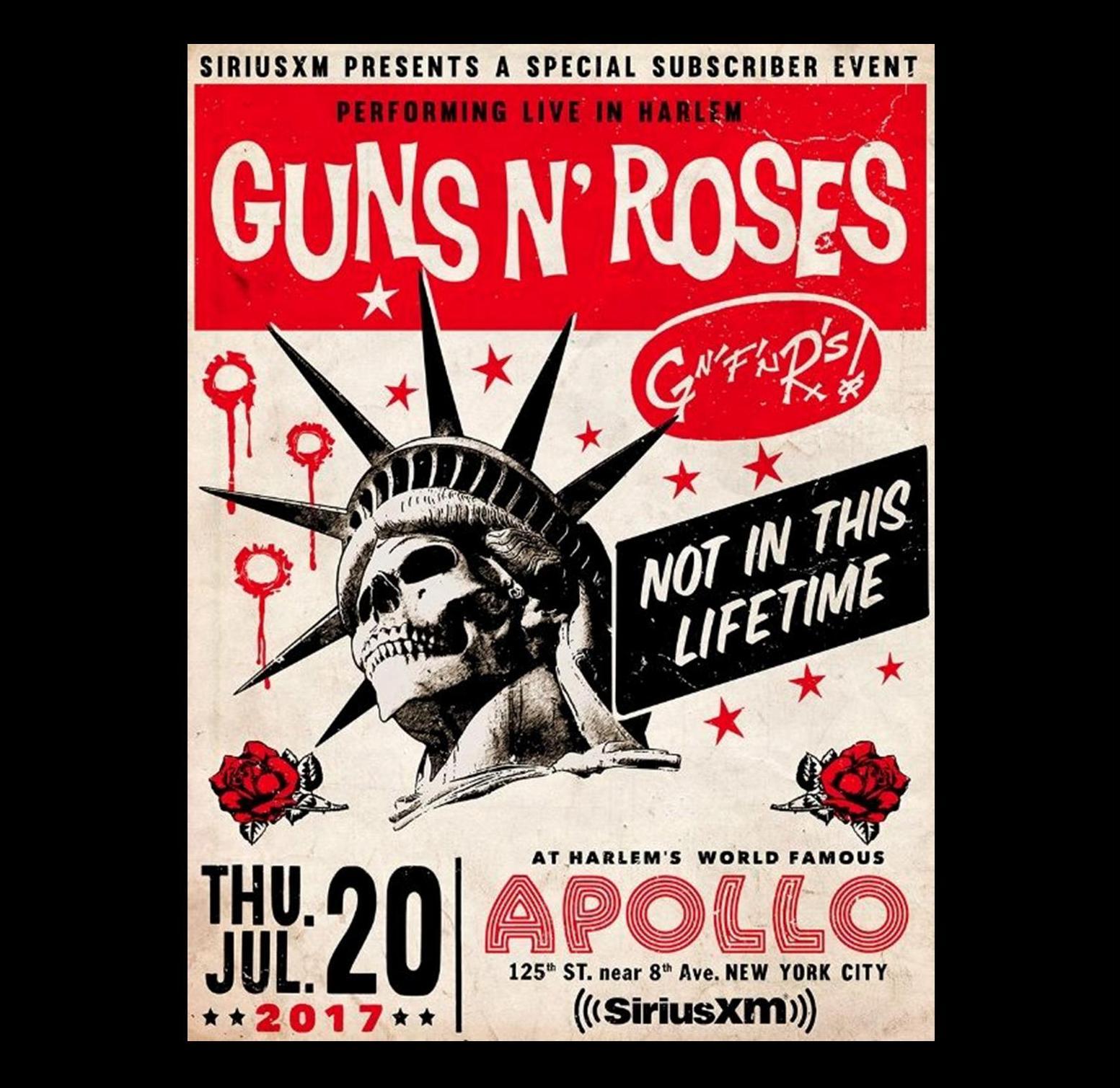 Guns N' Roses - 2017-07-20 - Apollo Theatre, New York City (Soundboard) G%2Band%2Br%2B7-20-17