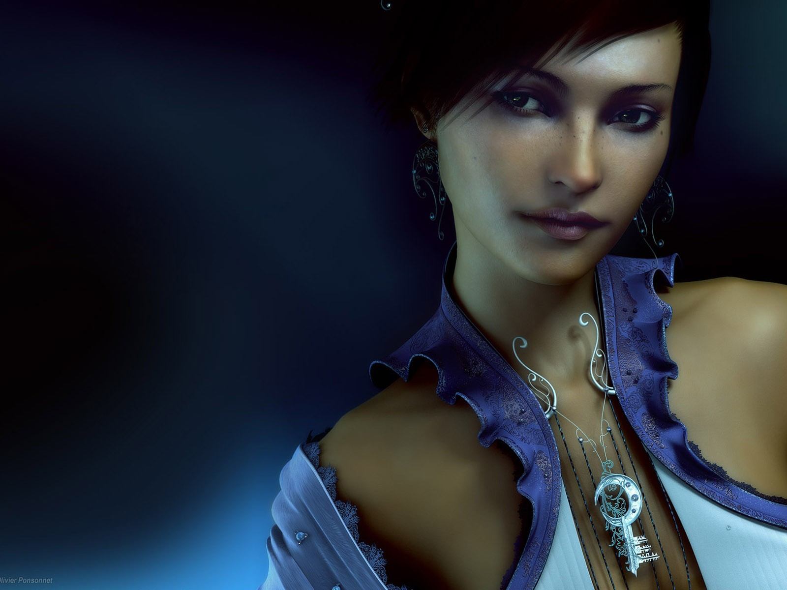 Art Appreciation: CGI Woman