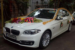 luxury wedding cars BMW