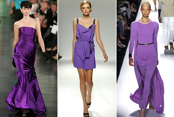 Diffe Elements Of Color Can Suggest Texture As Well All Three Models Have On A Shade Purple Along With