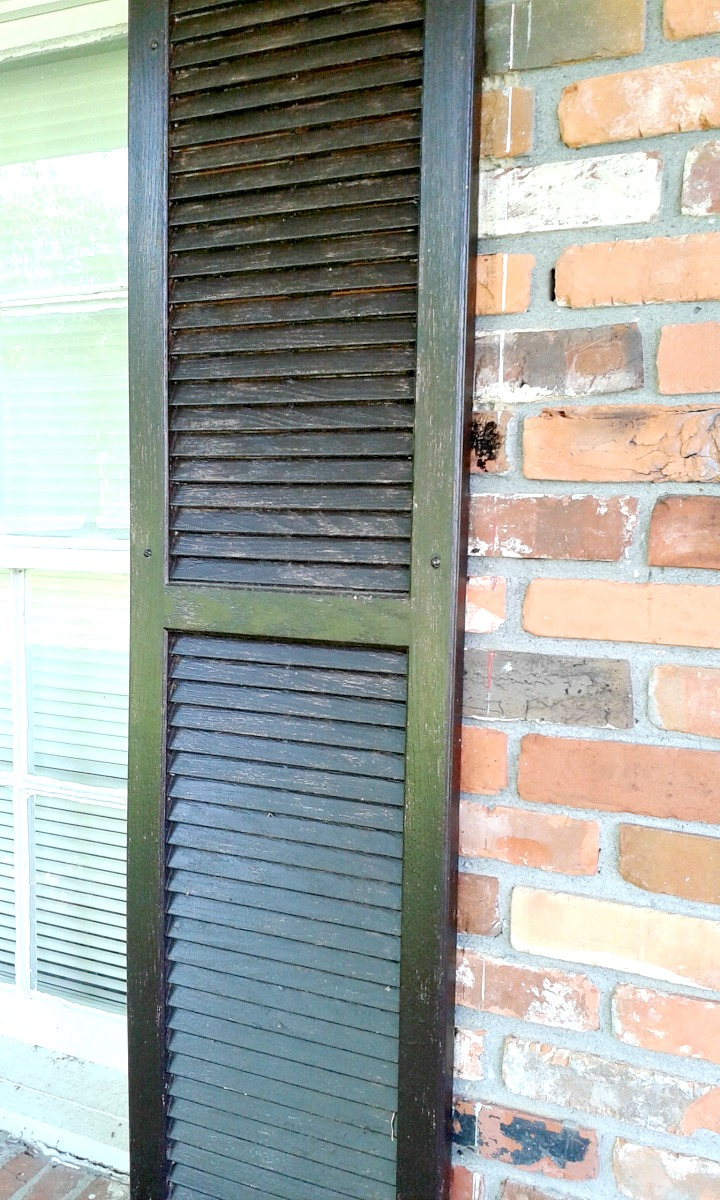 Cultivate Create Stained Vinyl Shutters Two Years Later