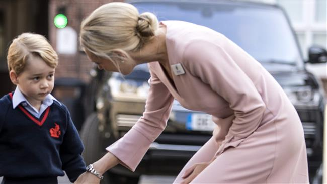 Headmistress Helen Haslem comes all out for Prince George of the United Kingdom