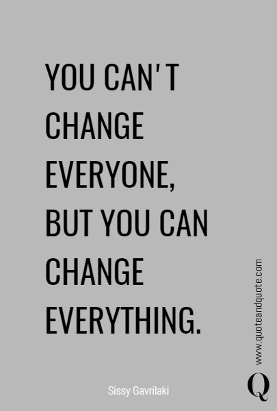 Motivational Quote, Inspirational Quote, New Years Resolution, Quote About Change