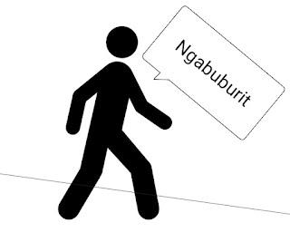Arti ngabuburit saat puasa dalam bahasa sunda, indonesia dan bahasa gaul