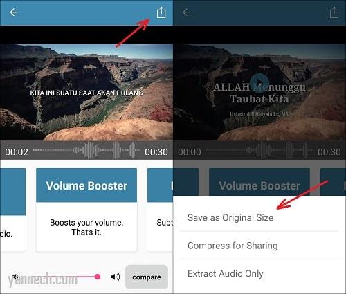 Cara Memperbesar Volume Suara Video di Android Dengan Mudah