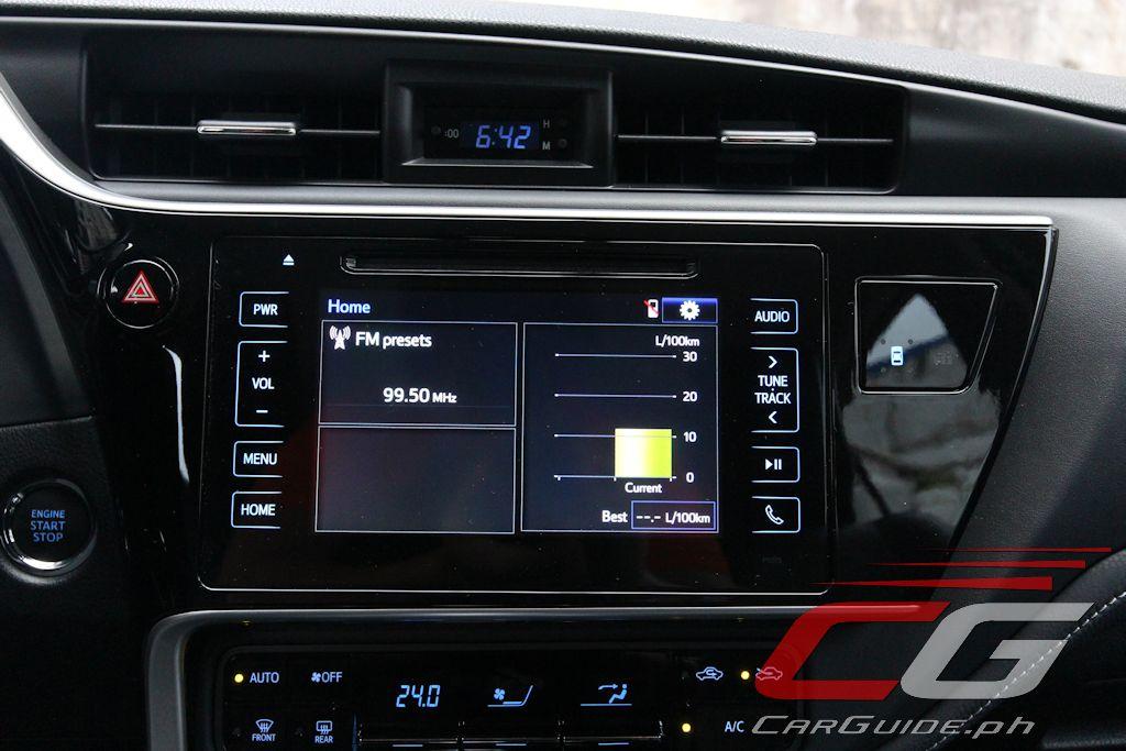 Fresh 2017 toyota Corolla Navigation System