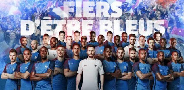 Favorita e jogando em casa, França anunciou os 23 convocados para a Euro 2016'' id=