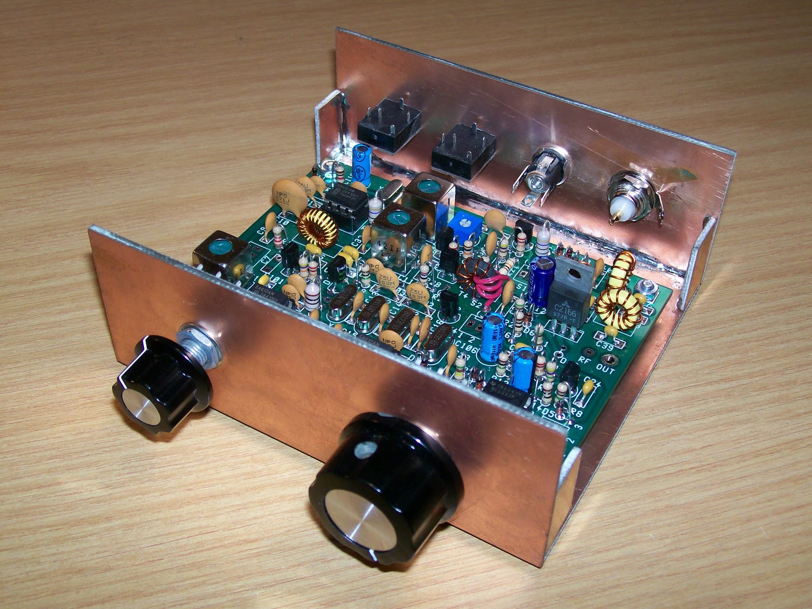 Colin M1BUU's radio stuff: Small Wonder Labs SW20+