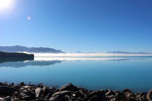Lac Pukaki Ile du Sud