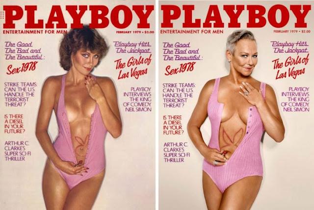 7 conejitas de los 70, 80 y 90 recrean sus portadas 'Playboy' 30 años después; ¡y están mejor!