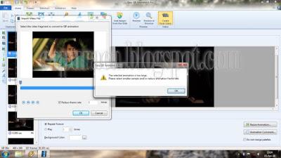 Cara Membuat file GIF dari Video