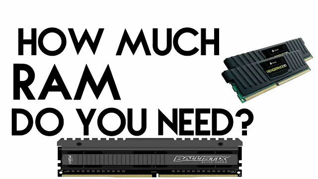 How Much Ram Do I Need On My Laptop