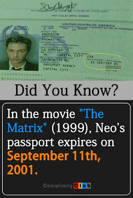 The Matrix 9/11/2001 Passport