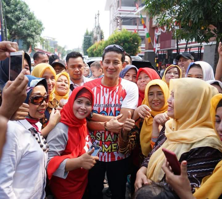 Merinding Baca Doa Emak-Emak untuk Prabowo-Sandi