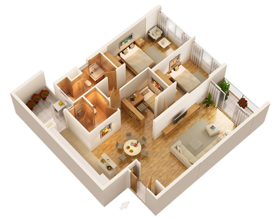 chung cư N03T6 Ngoại Giao Đoàn
