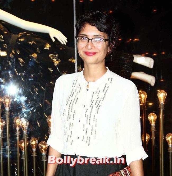 Kiran Rao, Alia, Parineeti at Launch of Fashion Brand Diva`ni