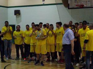 Την άνοδο στην Γ' Εθνική πανηγυρίζει η ομάδα basket του ΑΟΚ Χανιά