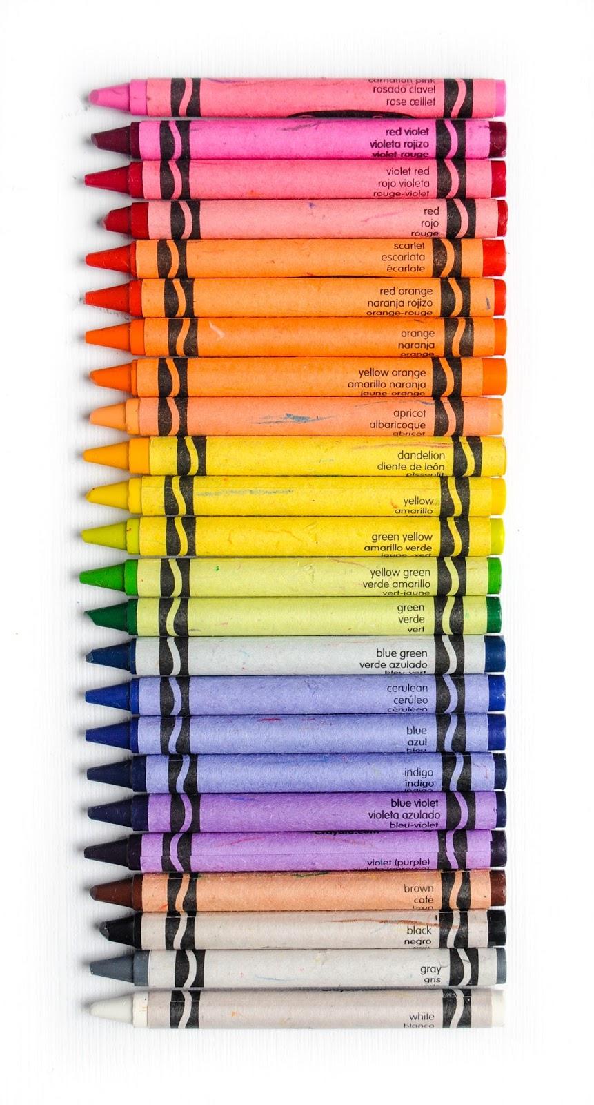 24 Count Crayola Crayons Whats Inside the Box Jennys Crayon