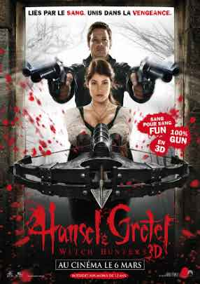Hansel & Gretel: Witch Hunters 2013 BRRip 1080p Dual Audio In Hindi English