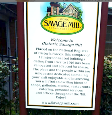The Historic Savage Mill in Savage Maryland