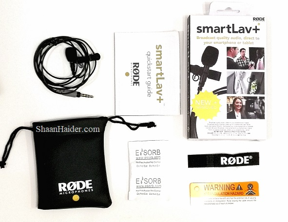 Rode SmartLav+ Microphone for iPhone and Android : Hands-on Review