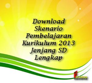 Download Skenario Pembelajaran Kurikulum 2013 Jenjang Sd Lengkap File Terbaru