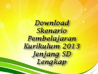 Download Skenario Pembelajaran Kurikulum 2013 Jenjang SD Lengkap