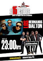 Concierto de Los Hermanos Dalton y Sidderales en Estepona