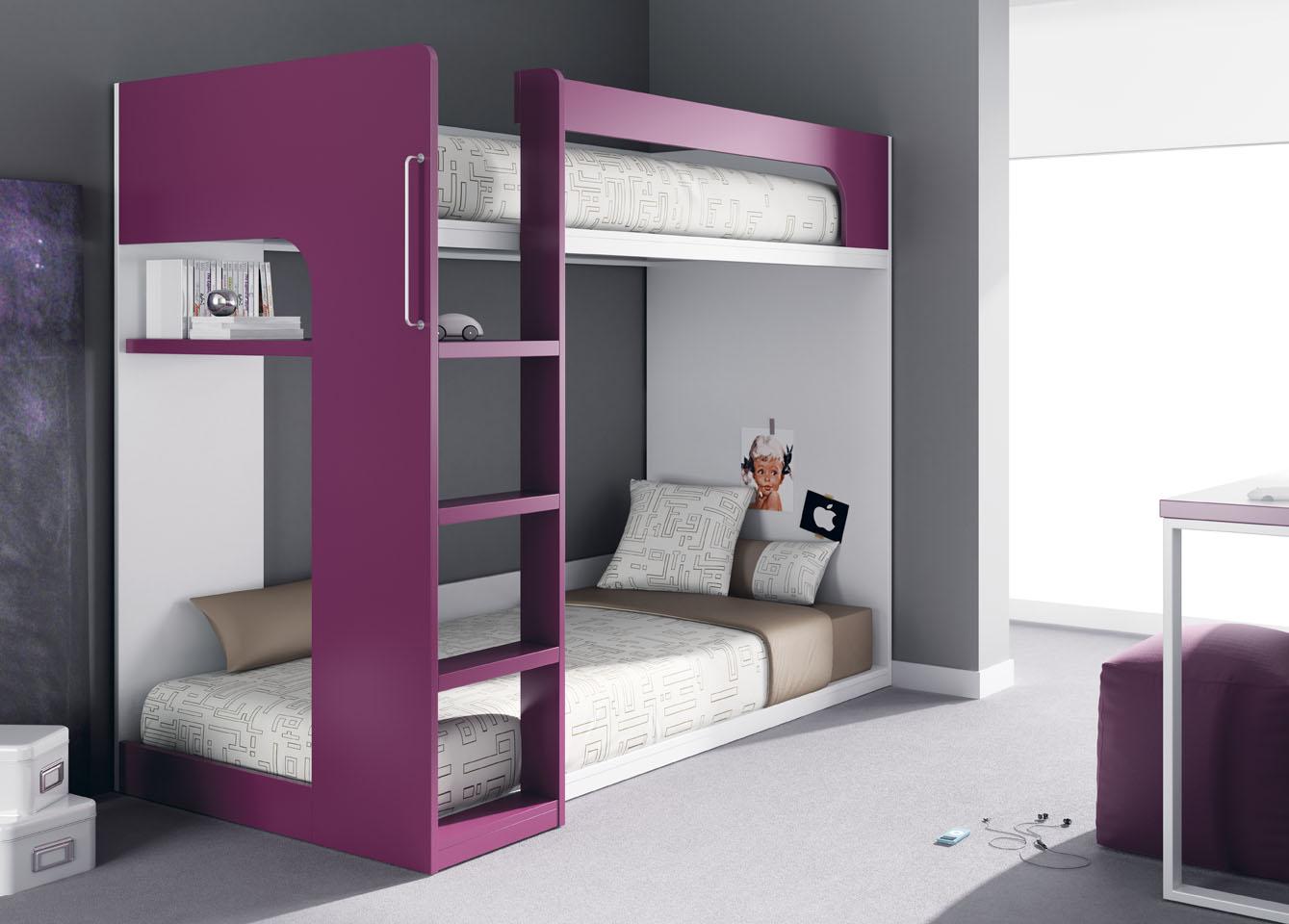 lits superpos s de meubles ros. Black Bedroom Furniture Sets. Home Design Ideas
