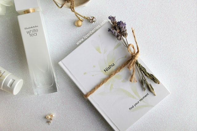 elizabeth arden white tea EDT review