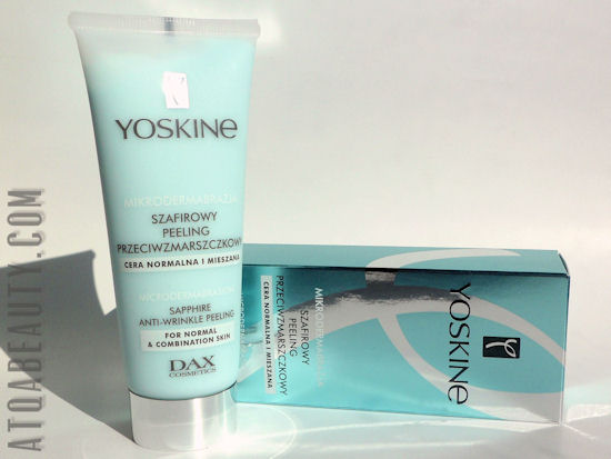 Pielęgnacja :: Szafirowy peeling Yoskine Dax Cosmetics <br>– całkiem nieźle!