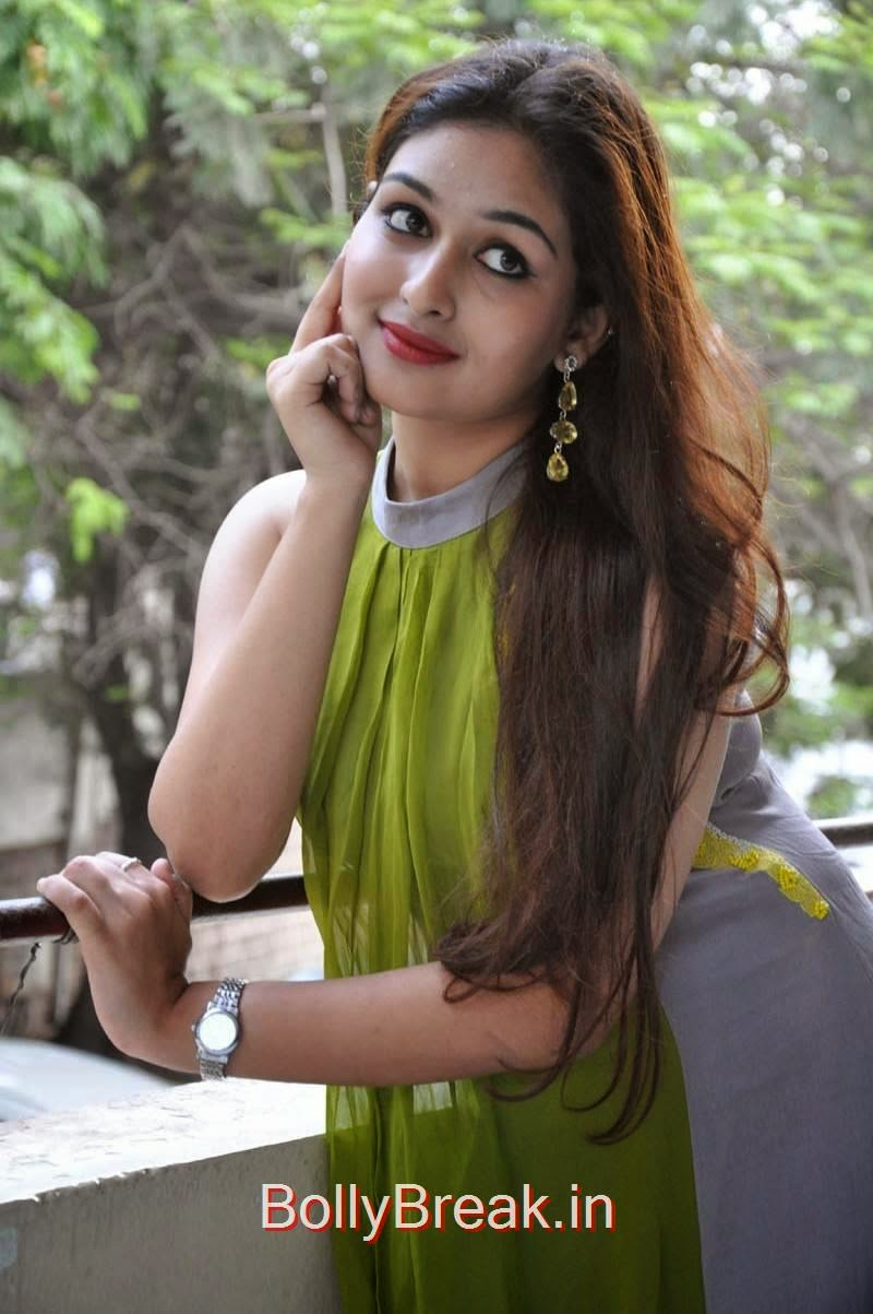 Prayaga Martin Pics, Actress Prayaga Martin Hot HD Images in Green dress